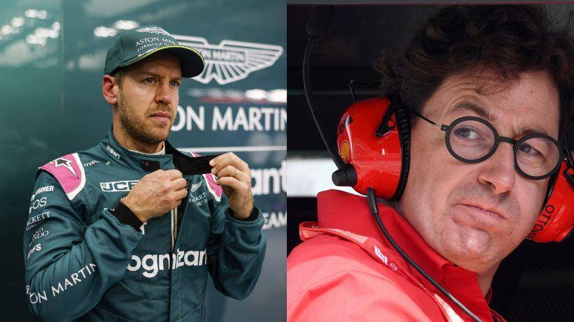 """F1 Ferrari, Binotto a gamba tesa su Vettel: """"Finalmente!"""""""