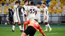 Roma, il mattatore è Borja Mayoral: 2-1 a Kiev e quarti