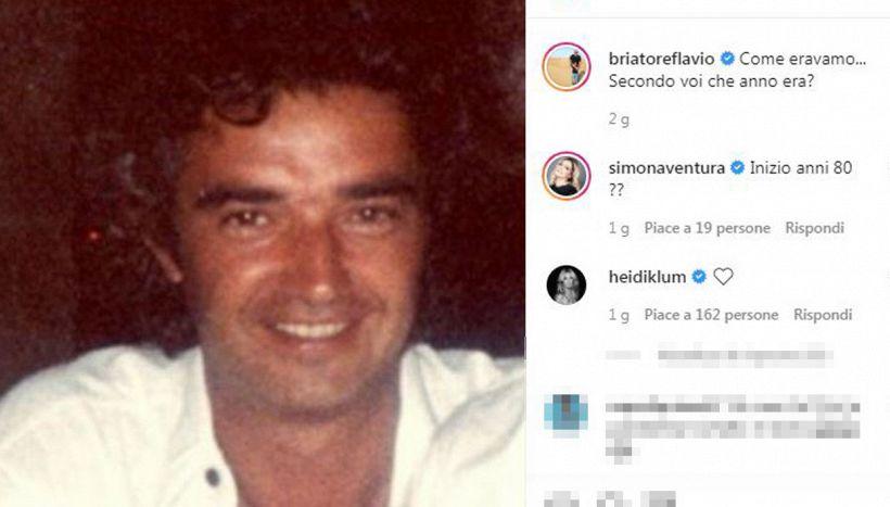 Flavio Briatore e Heidi Klum, la storia riscoperta con un post