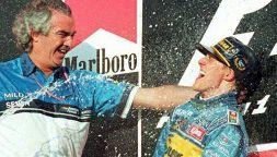 Flavio Briatore riserva dedica emozionante a Michael Schumacher