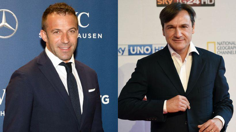 Juve: siparietto Caressa-Del Piero è virale