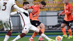 Shakhtar Donetsk-Roma 1-2: doppio Borja Mayoral, giallorossi nei quarti di Europa League. Le pagelle