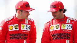 F1: Ferrari anonima, ma le parole di Leclerc e Sainz stupiscono
