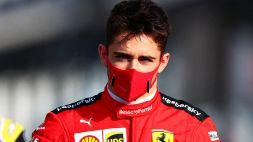 """Leclerc e il giallo delle gomme: """"Non abbiamo spiegazioni"""""""