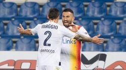 Serie B: il Lecce vola, il Monza frena ancora