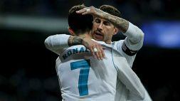 """Sergio Ramos difende Ronaldo: """"Da solo non vince la Champions"""""""