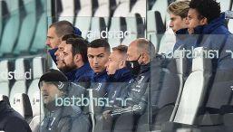 Cristiano Ronaldo e il fastidio per la panchina in Juve-Lazio