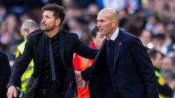 Atletico-Real, il derby che può valere la Liga: i numeri sono con Zidane