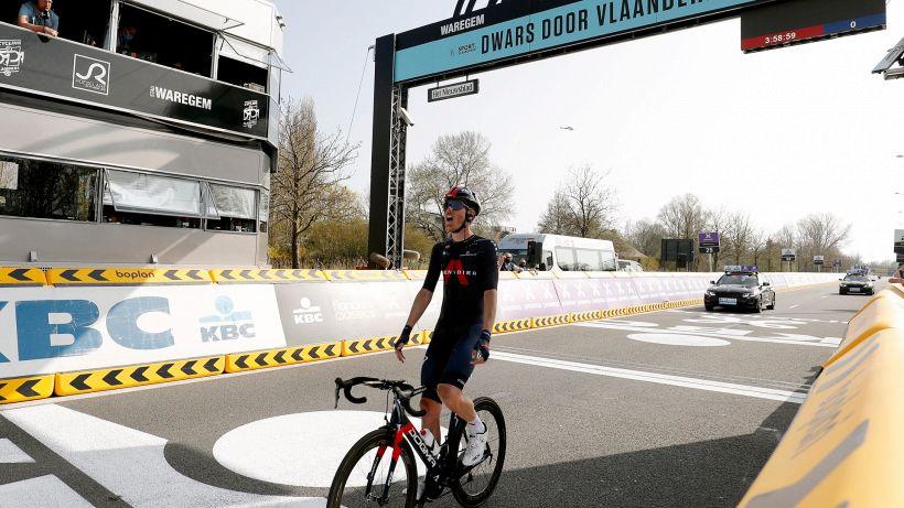 Dwars door Vlaanderen 2021: vince Dylan Van Baarle