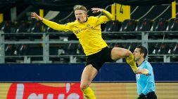 Borussia Dortmund-Siviglia 2-2: Haaland trascina i tedeschi ai quarti