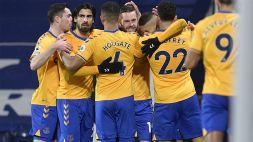 Premier League, L'Everton continua la sua corsa: 1-0 al WBA