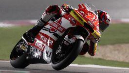 Moto2, Lowes stravince a Losail. Podio con dedica per Di Giannantonio