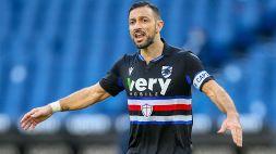 Sampdoria, ora il futuro di Quagliarella è in bilico