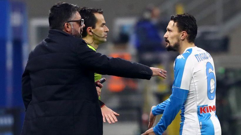 Napoli: Gattuso allontana Mario Rui dall'allenamento