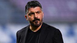 Napoli, l'ironia dei social per il gesto di Gattuso