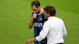 """Godin e l'addio all'Inter: """"E' stata una scelta di Conte"""""""