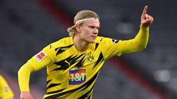 Borussia, Haaland: 100 goal a vent'anni in 146 partite