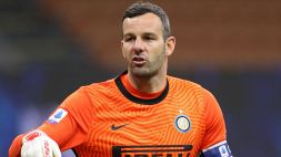 Tegola Covid per l'Inter: anche Samir Handanovic è positivo