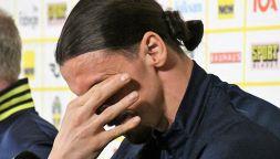 La domanda che emoziona: Ibrahimovic in lacrime per il figlio