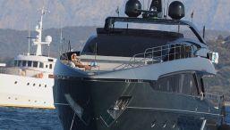 Lo yacht extra lusso di Zlatan Ibrahimovic al largo di Sanremo