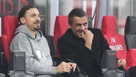 Sanremo 2021: Ibrahimovic segue Milan-Udinese con Maldini