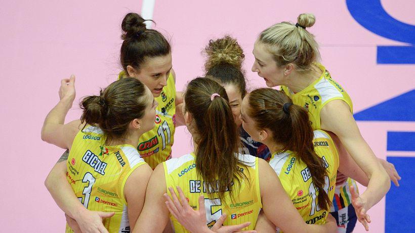 Volley f., al via i quarti di finale: subito in scena Conegliano