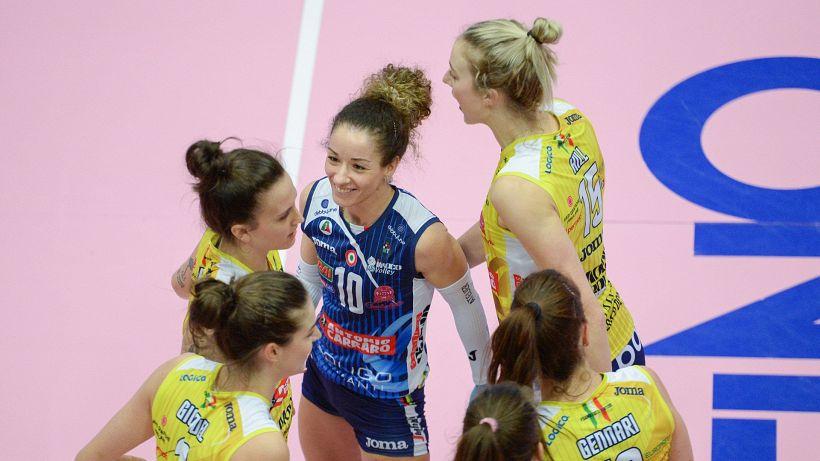 Volley, l'Imoco è la prima finalista di Champions League