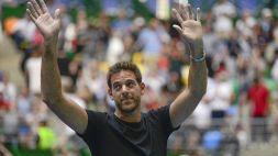 """Tennis, Del Potro: """"Non penso al ritiro. Credo nel 2021"""""""