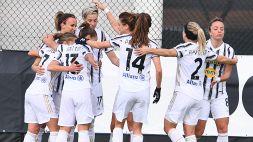 Juventus Women vede lo scudetto: poker al Milan