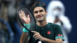 Le foto del ritorno di Roger Federer