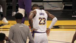 NBA, LeBron James fuori per diverse settimane