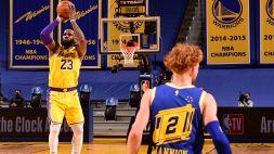 """NBA, Mannion e il """"benvenuto"""" di LeBron James"""