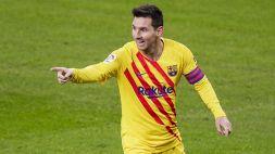 Messi eguaglia Xavi: 767 partite con il Barcellona