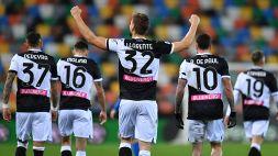 Udinese-Sassuolo 2-0: Llorente-Pereyra, i friulani volano. Le pagelle