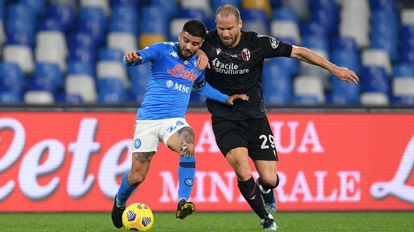 Napoli-Bologna 3-1: spettacolo al Maradona, decidono Insigne e Osimhen