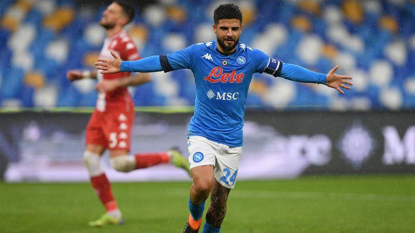 Napoli, Lorenzo il prolifico: Insigne è il re della Serie A nel 2021