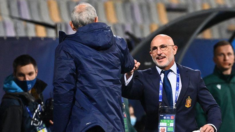 """De la Fuente contro l'Italia U21: """"Un gioco antisportivo"""""""