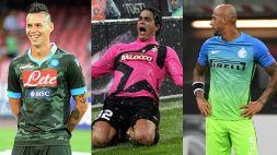Serie A: dal Napoli all'Inter, le maglie più strane