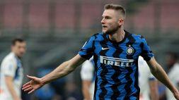 L'Inter è d'acciaio: Skriniar esalta Conte, l'Atalanta si arrende