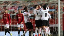 Europa League, Manchester United-Milan 1-1: le foto