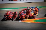 MotoGP: strepitoso Bagnaia, resiste a Quartararo e vince a Misano