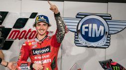 MotoGP: le foto della pole di Bagnaia, Rossi quarto