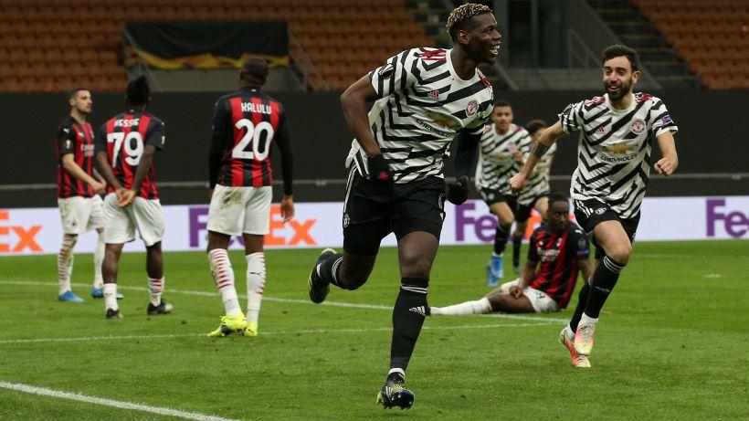 Milan steso da Pogba a San Siro: 1-0, passa il Manchester United