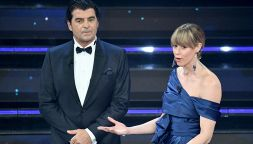 Sanremo 2021: Federica Pellegrini e Alberto Tomba all'Ariston