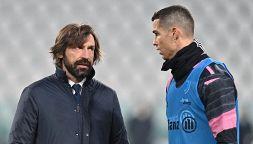 """Juve senza Ronaldo, le """"scuse"""" di Pirlo non convincono i tifosi"""