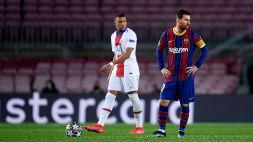 Champions League, PSG-Barcellona: le formazioni ufficiali