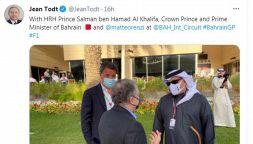 F1, Matteo Renzi al GP in Bahrain: le foto con Jean Todt