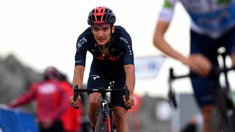 """Carapaz: """"Il Tour de France è il mio obiettivo"""""""