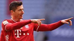 Bayern Monaco in dieci: 4-0 contro lo Stoccarda all'intervallo