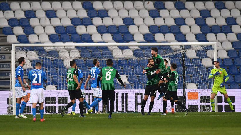 Incredibile 3-3 tra Sassuolo e Napoli, le pagelle